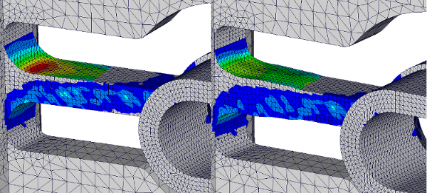 Shape optimization of casted structures.